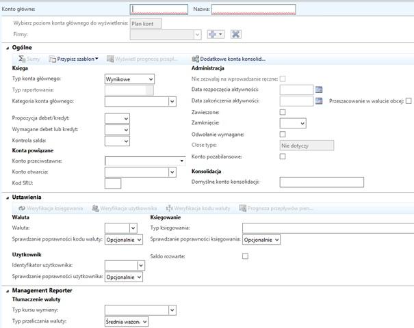 7 - Finanse w Microsoft Dynamics AX