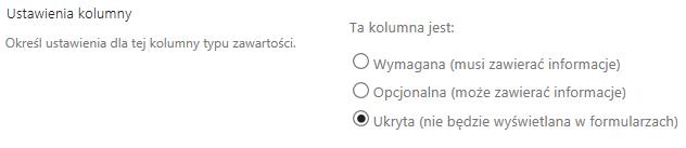 Ukrywanie w formularzach