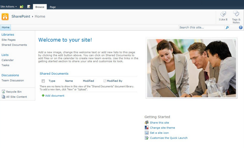 sharepoint2010teamsite