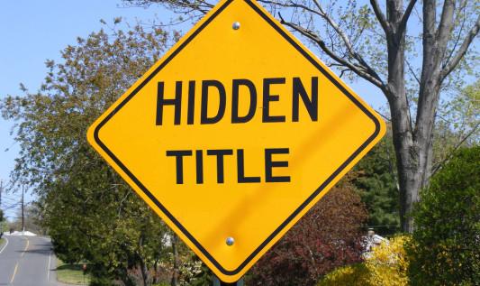 Ukrywanie kolumny z tytułem w liście