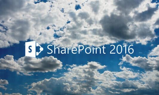 Nowości w SharePoint 2016