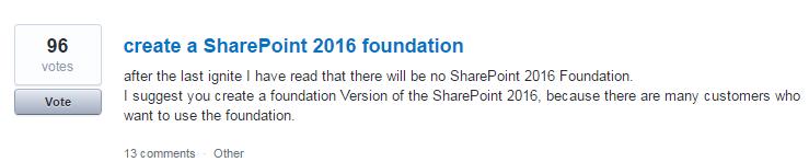 UserVoice w SharePoint głosowanie na sugestie użytkowników