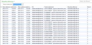 lista odebranych, nieprzetworzonych wiadomości e-mail, Dynamics AX 2012