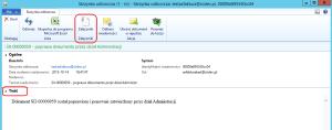 E-faktura zaciągnięta do rejestru dokumentów Dynamics AX 2012