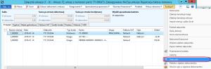 Podgląd załącznika z poziomu arkusza faktur Dynamics AX 2012