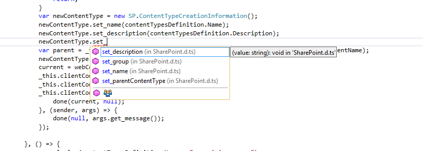 Creating SharePoint solutions with Typescript - blogersii