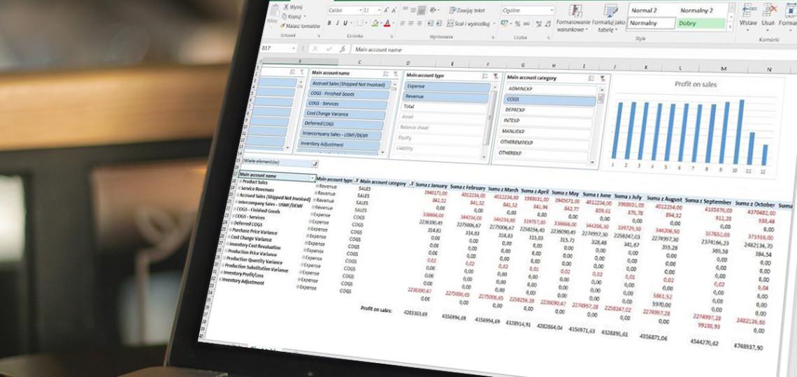 Nowe metody raportowania danych w Dynamics AX