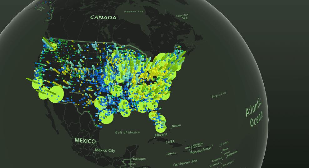 Inne spojrzenie na dane, czyli Power Map w Excel 2016