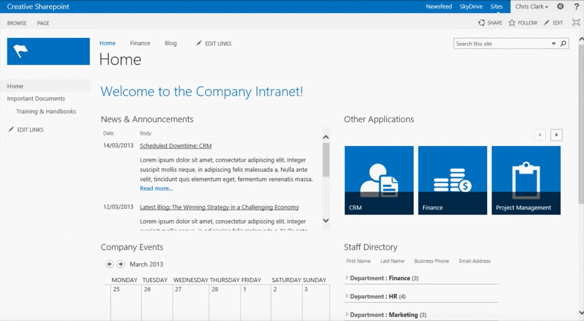 SharePoint_Intranet