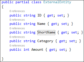 externalentity2 - Query string filtering for BCS data