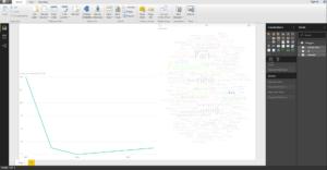 12. Word cloud knitr 300x156 - Trendy na r-bloggers, czyli analiza danych z Facebooka w Power BI