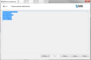 PRZYKLAD SQL5 SAS EG 300x197 - Możliwości SAS Enterprise Guide