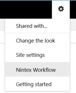 Nintex_menu