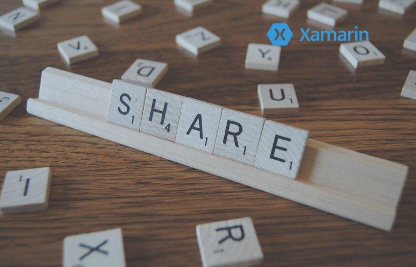 Xamarin. Przegląd komercyjnych projektów pod względem współdzielenia kodu.