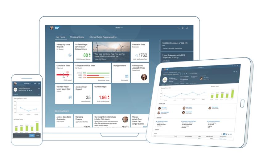Środowisko użytkownika SAP Fiori