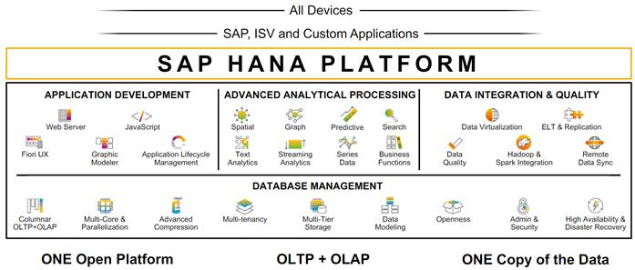 SAP HANA Platform Services - Mały Glosariusz SAP (część II)
