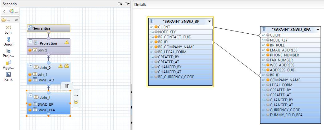 Przykład Calculation View (cz. 1)
