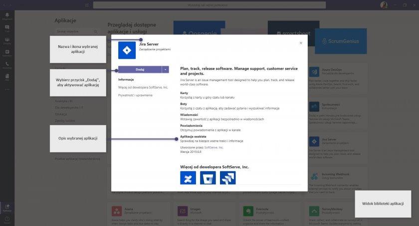 7 MS Teams Command Box aplikacje dodawanie e1588145816450 - Microsoft Teams - zwiększ produktywność za pomocą pola poleceń
