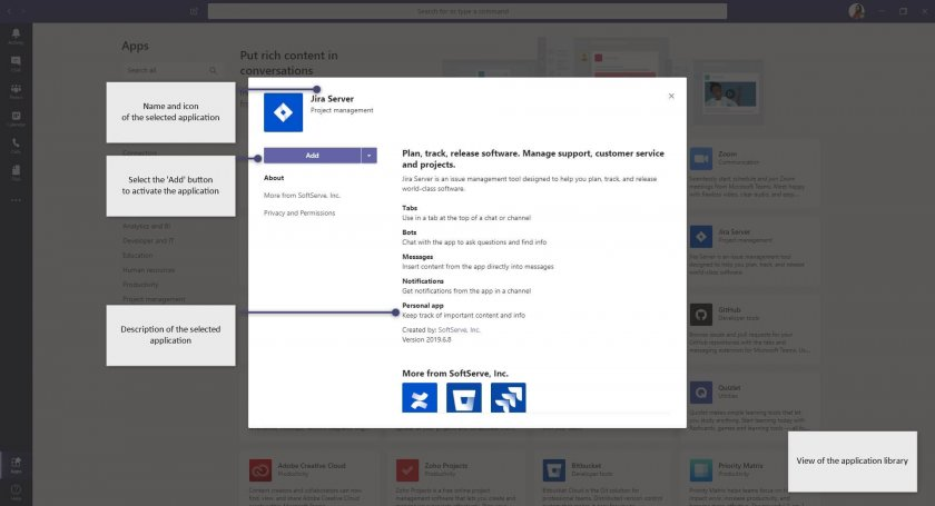 7 MS Teams Command Box applications adding e1588160358979 - Microsoft Teams – improve your productivity with the command box