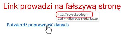 Falszywa strona - Czym jest Phishing?