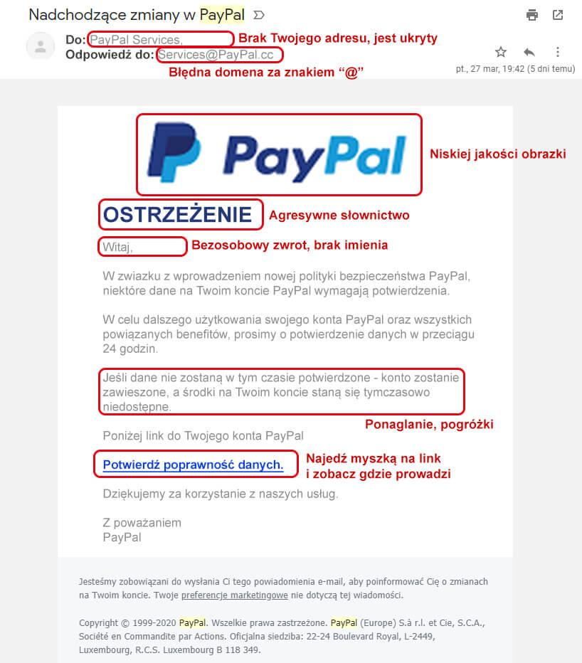 Falszywy email - Czym jest Phishing?