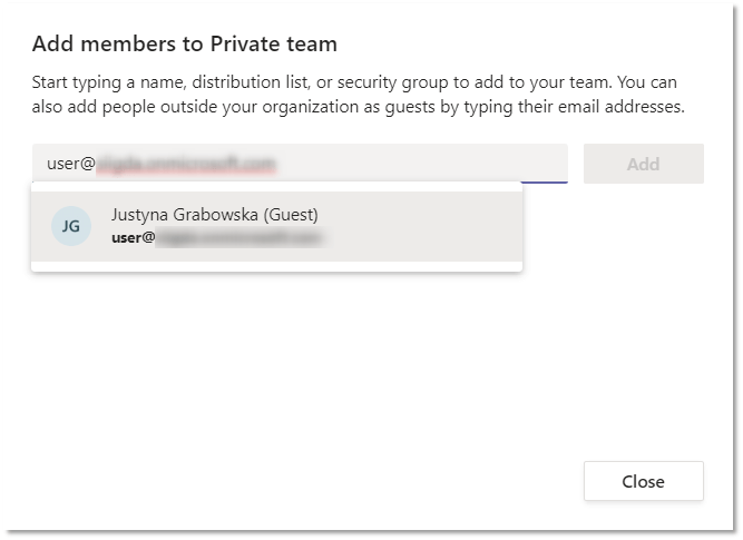addingGuestShadowENG - External access and Guest access in Microsoft Teams - how and why should you use it?