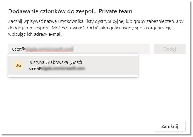addingGuestShadowPL - External access oraz Guest access w Microsoft Teams