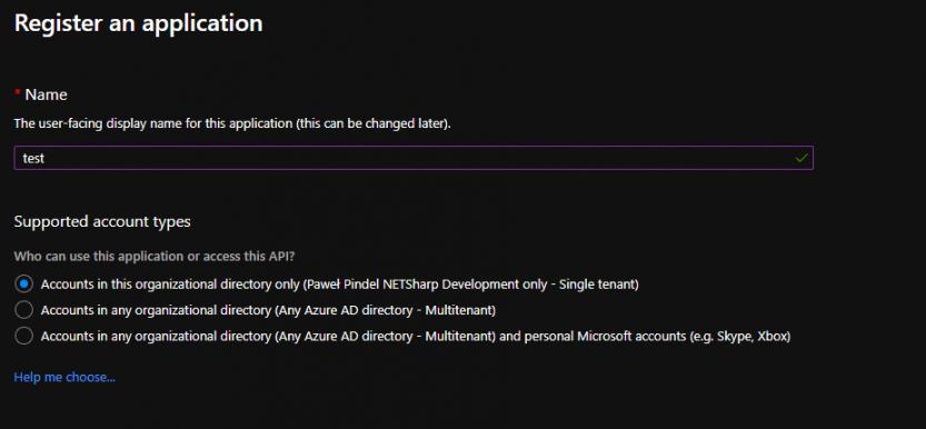 Azure Portal Register Application Software Development e1596439566697 - OAuth 2.0 On Behalf flow in Azure Active Directory and .NET Core