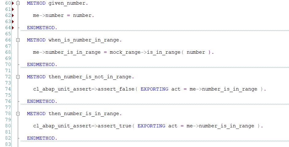 Implementacja metod pomocniczych cd - ABAP Unit i Test-driven Development