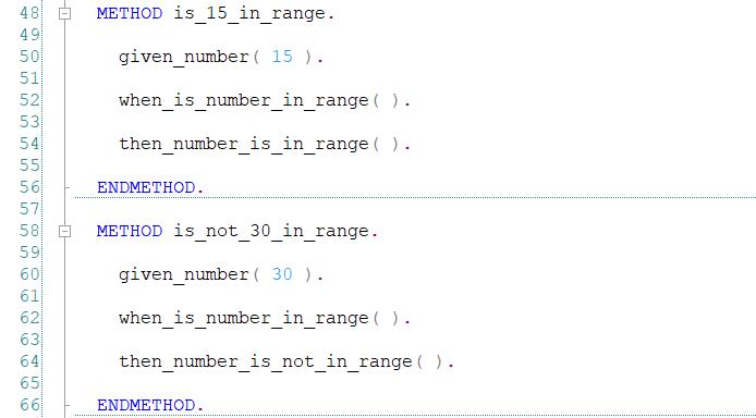 Struktura GIVEN WHEN THEN - ABAP Unit i Test-driven Development