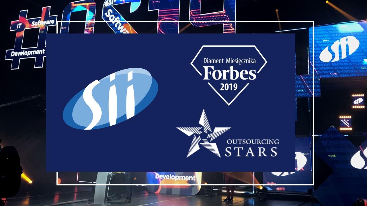 Dobry początek roku dla Sii Polska – Diament Forbesa oraz potrójna wygrana podczas gali Outsourcing Stars