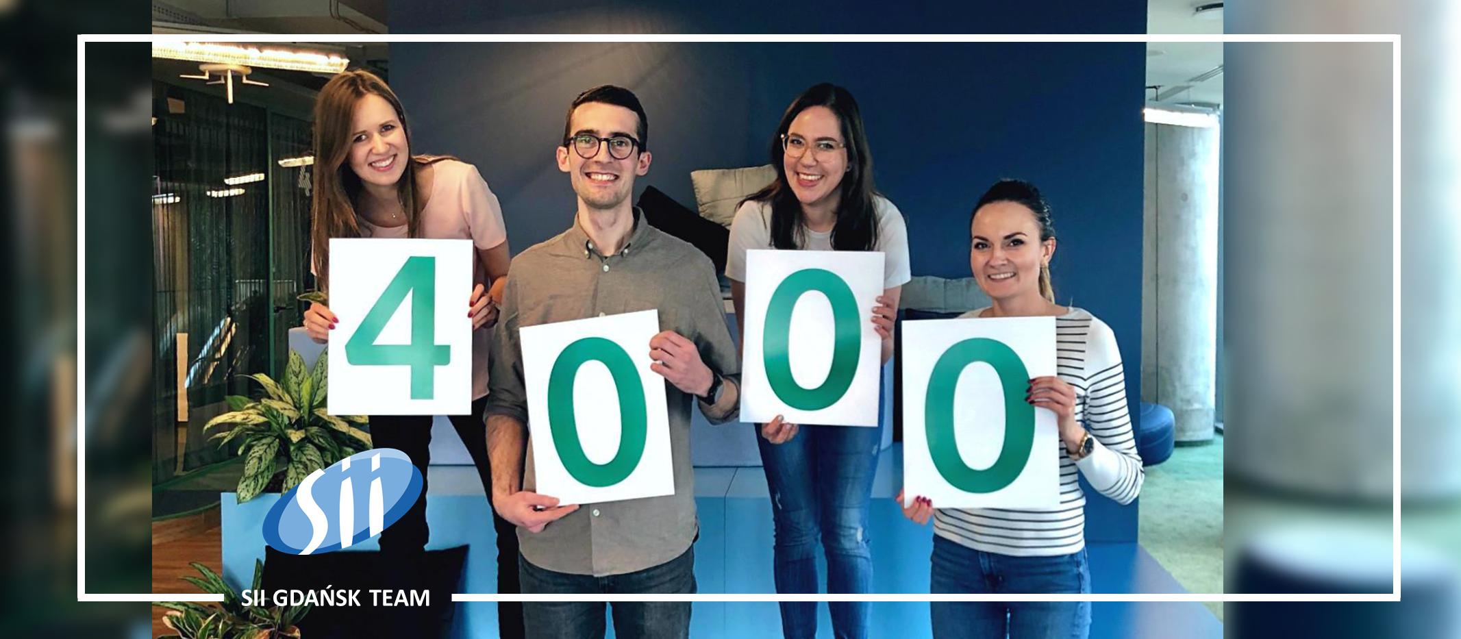 Sii świętuje 4 000 pracowników w 12 lokalizacjach i jest gotowe na więcej!