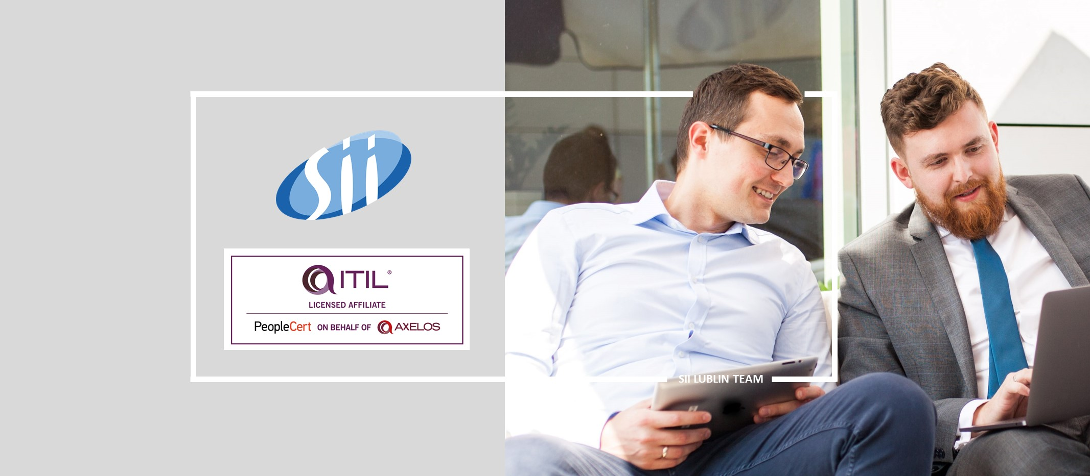 IT service management in the era of digital transformation. The latest ITIL®4 training programme now realized by the Sii Training Practice