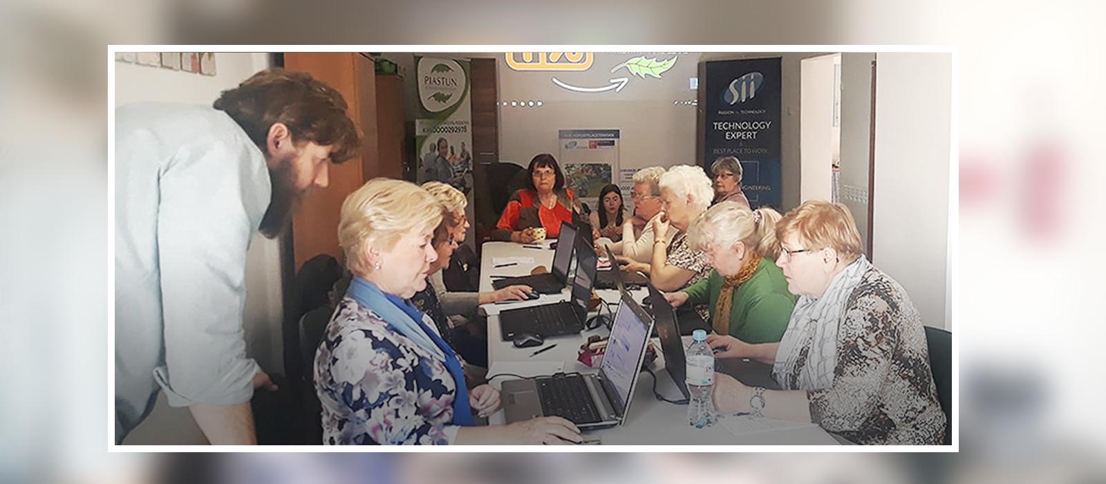 Sii Power Volunteers walczą z wykluczeniem cyfrowym