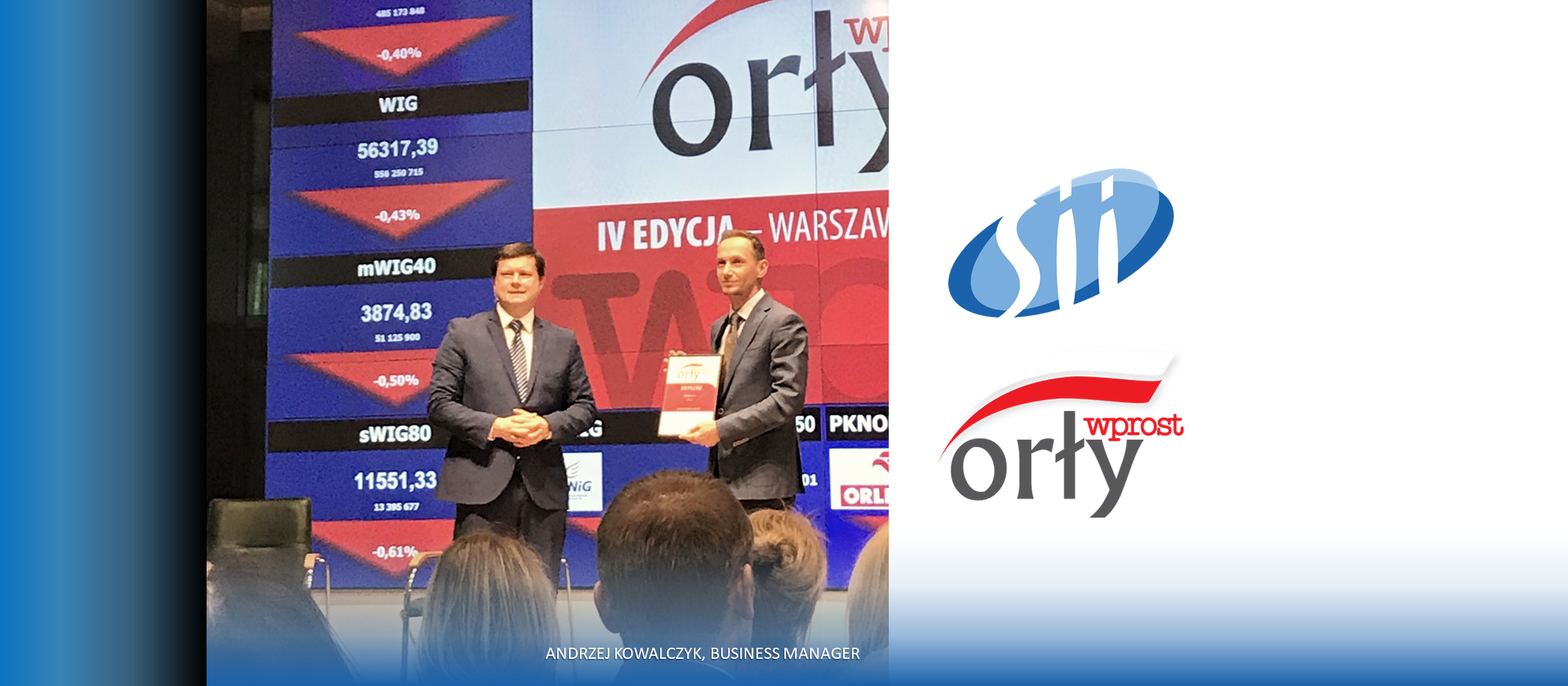 """The Eagles of """"Wprost"""" have been granted – Business Leader title for Sii Poland!"""