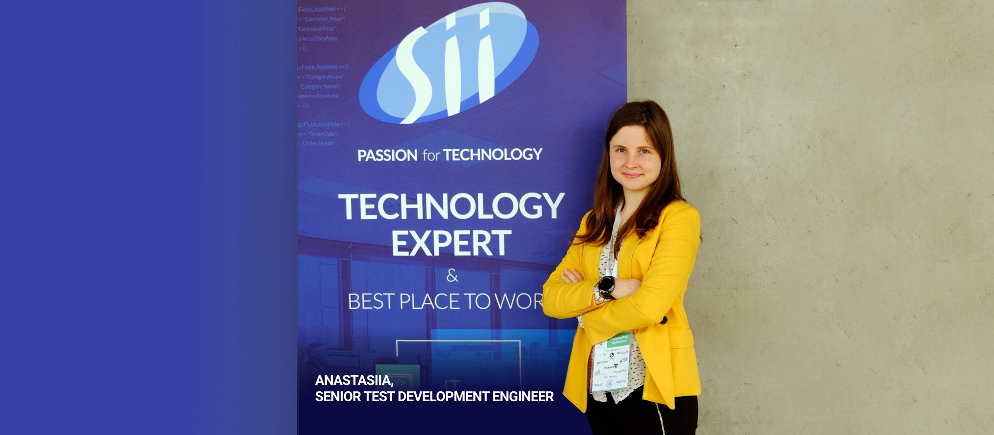 """Sharing knowledge is helping to improve the world"". Anastasiia Naiboikina – an engineer with a mission"