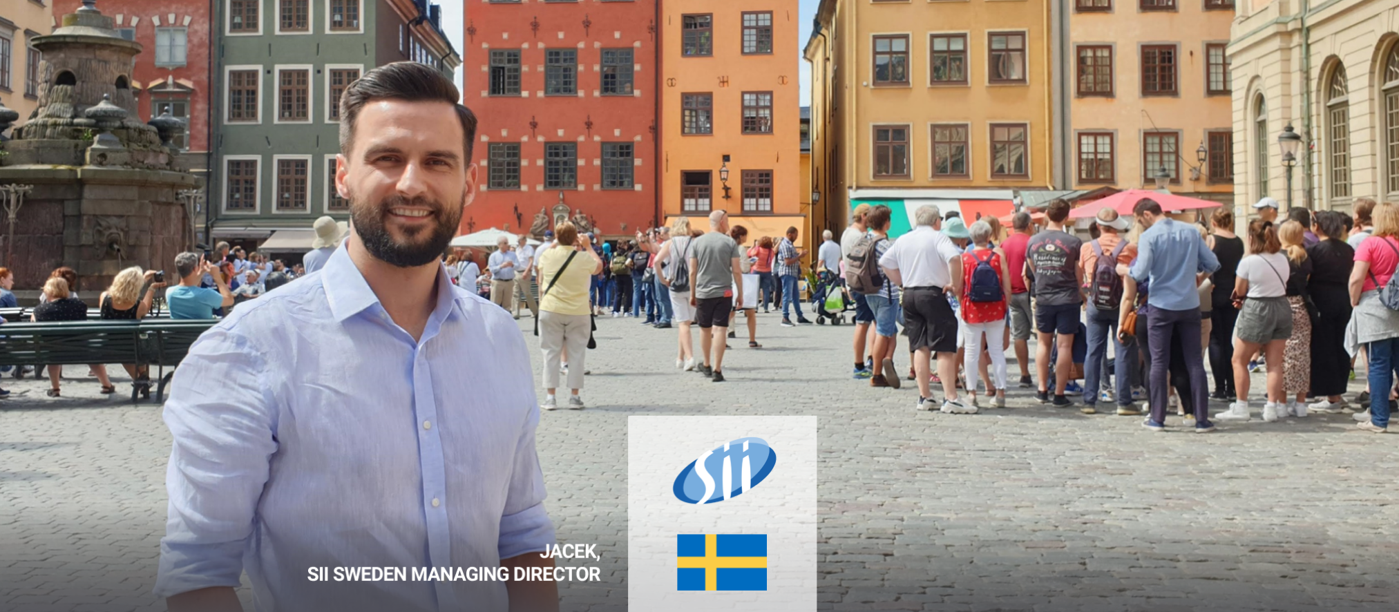 Heading North. Now Sii is even closer to Scandinavian clients